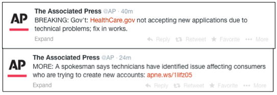 APtweetsOnHCdotGovDown033114PM