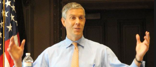 press virtually mum as arne duncan blames common core opposition