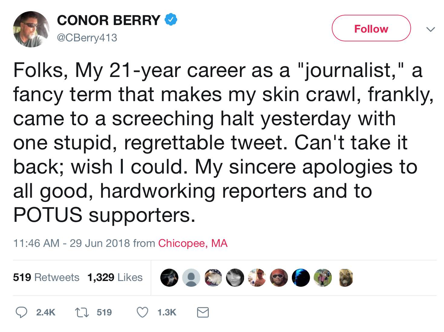ConorBerryApology062918