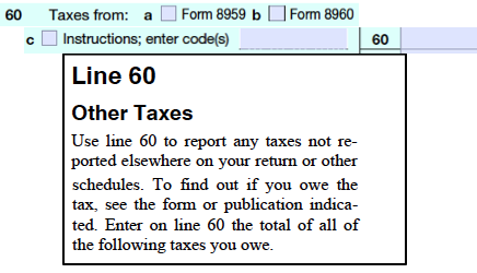 Form1040LongForm2013Line60Insts