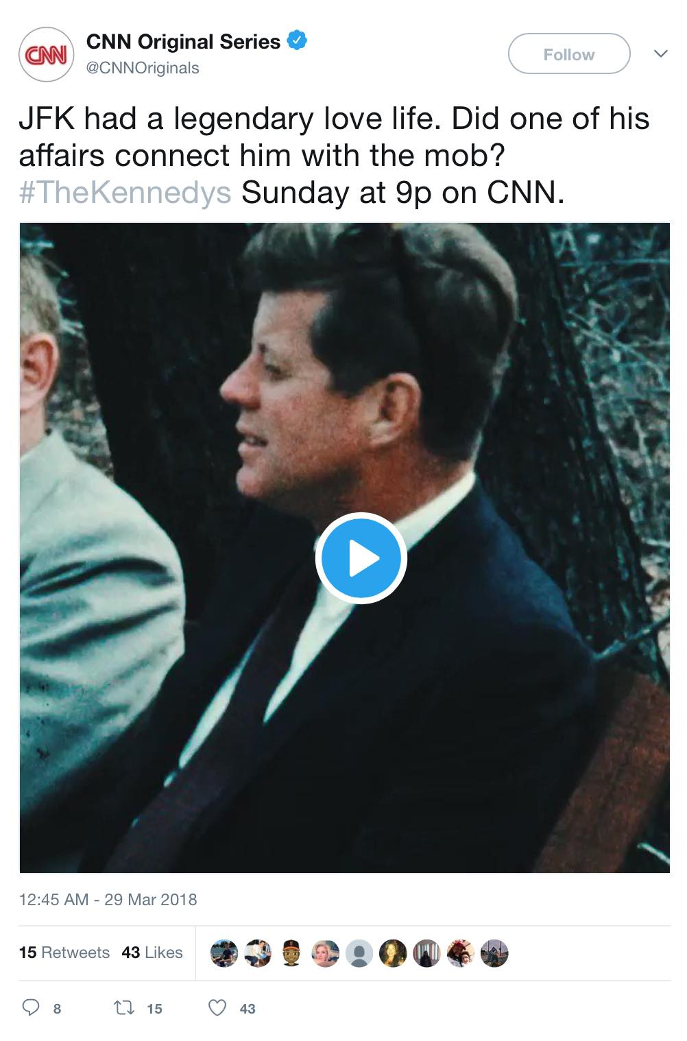 JFKlegendaryLoverTweetCNN032918