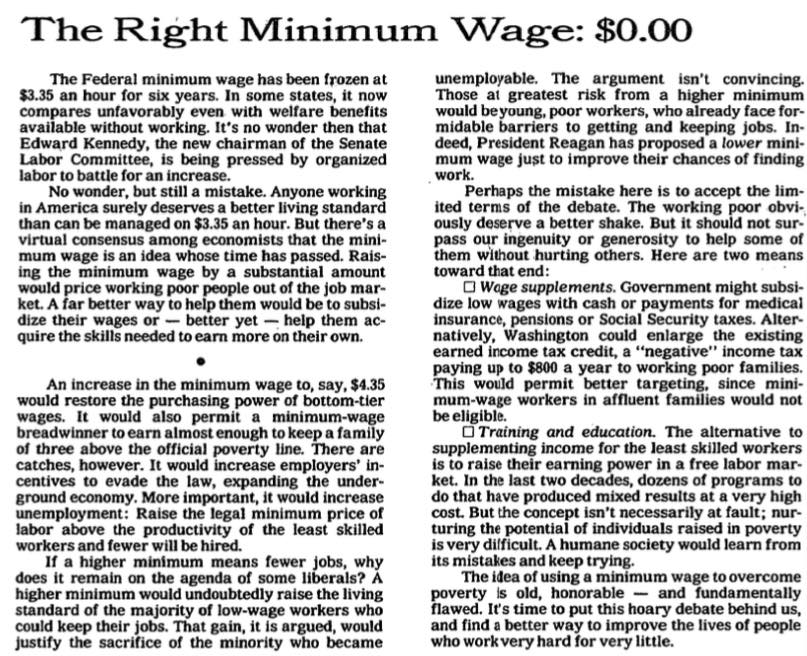 """a zero wage increase case study 142 monopsony and the minimum wage  a minimum wage above the equilibrium wage could increase  """"minimum wages and employment: a case study of the."""