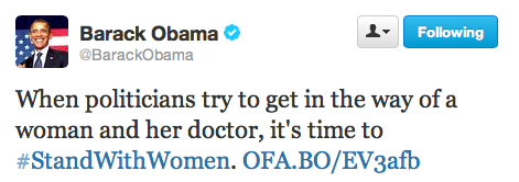 ObamaTexasAbortionTweet071313