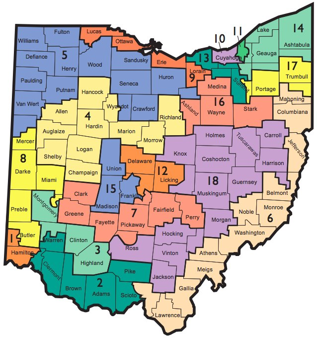 OhioCongressionalDists2001to2010